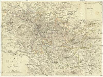 Charte vom Harz