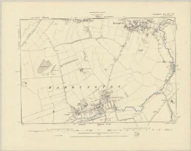 Cambridgeshire LIII.NW - OS Six-Inch Map