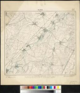 Meßtischblatt 3636 : Benfeld, 1885