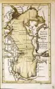 Karta Kaspijskago morja