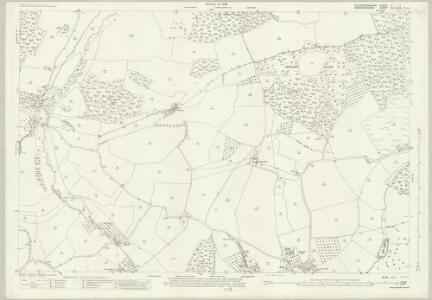 Gloucestershire X.7 (includes: Bromsberrow; Donnington; Eastnor; Ledbury Rural) - 25 Inch Map