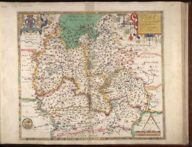 Oxonii, buckinghamiae et berceriae Comitatuum