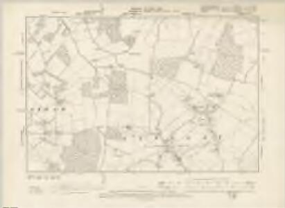 Hertfordshire IX.NE - OS Six-Inch Map