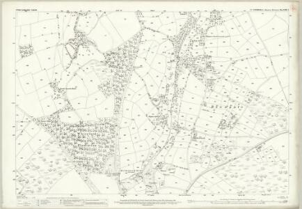 Cornwall XXIX.2 (includes: Stoke Climsland) - 25 Inch Map