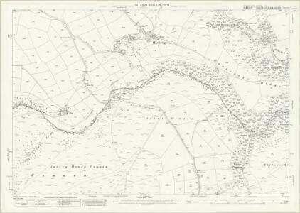 Devon XVI.11 (includes: Dulverton; East Anstey; West Anstey; Withypool) - 25 Inch Map