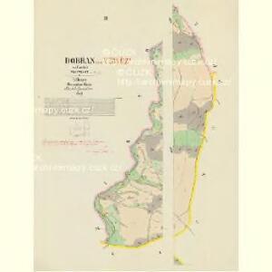 Dobřan - c1201-1-003 - Kaiserpflichtexemplar der Landkarten des stabilen Katasters