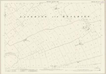 Cumberland XXVIII.13 (includes: Aspatria) - 25 Inch Map