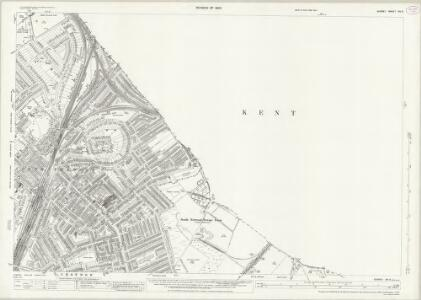 Surrey XIV.3 (includes: Beckenham; Croydon St John The Baptist; Penge) - 25 Inch Map