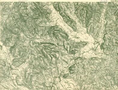 III. vojenské mapování 4663/2
