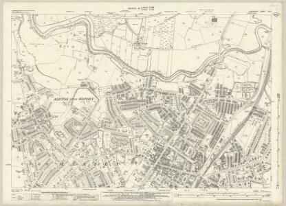 Lancashire CX.8 (includes: Sale; Stretford; Urmston) - 25 Inch Map