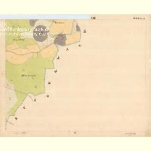 Glöckelberg - c9317-3-013 - Kaiserpflichtexemplar der Landkarten des stabilen Katasters