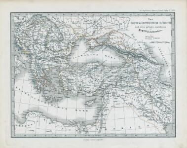 Das Osmanische Reich nach seiner grössten Ausdehnung im XVIIten Jahrhundert
