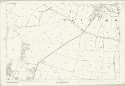 Northamptonshire XXII.12 (includes: Stanford; Welford) - 25 Inch Map