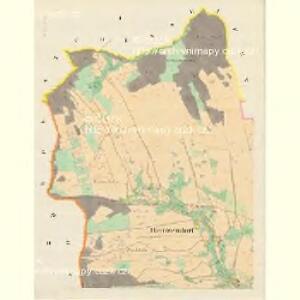 Heinsendorf (Hinczin) - m0947-1-001 - Kaiserpflichtexemplar der Landkarten des stabilen Katasters