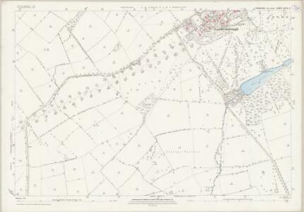 Yorkshire CXCIV.9 (includes: Londesborough; Shipton Thorpe) - 25 Inch Map