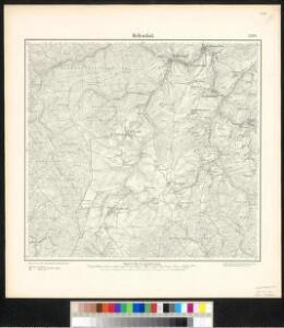 Meßtischblatt 3208 : Hellenthal, 1895