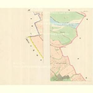 Ossek - m2169-1-006 - Kaiserpflichtexemplar der Landkarten des stabilen Katasters