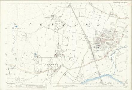 Worcestershire XLVIII.2 (includes: Birlingham; Defford; Eckington) - 25 Inch Map
