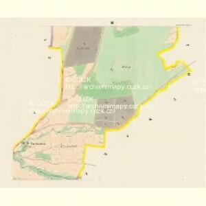 Hradischt (Hradisste) - c2305-1-003 - Kaiserpflichtexemplar der Landkarten des stabilen Katasters