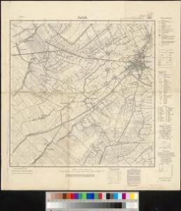Meßtischblatt 1106 : Aurich, 1933