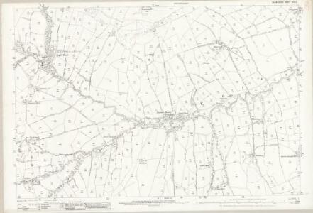 Derbyshire IX.3 (includes: Edale) - 25 Inch Map