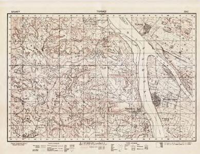 Lambert-Cholesky sheet 2343 (Tigănaşi)