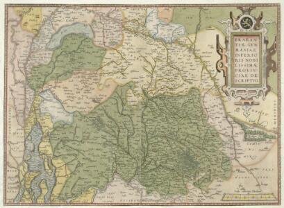 Brabantiae Germaniae inferioris nobilissimae Provinciae descriptio