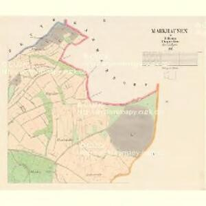 Markhausen - c6004-2-002 - Kaiserpflichtexemplar der Landkarten des stabilen Katasters