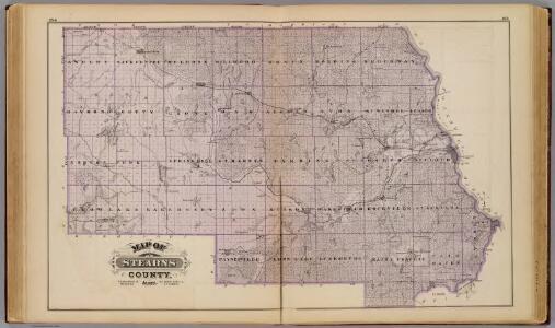 Map of Stearns County, Minn.
