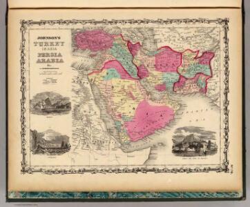 Turkey In Asia Persia Arabia &c.