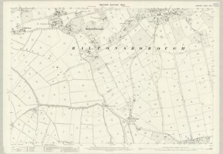 Somerset LXIV.1 (includes: Baltonsborough; Barton St David; Butleigh) - 25 Inch Map