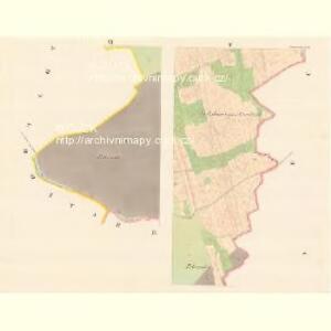 Kunowitz - m1436-1-005 - Kaiserpflichtexemplar der Landkarten des stabilen Katasters
