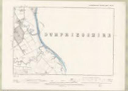 Kirkcudbrightshire Sheet XXX.SW - OS 6 Inch map