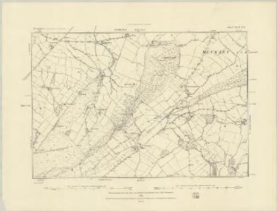 Shropshire XLIX.SW - OS Six-Inch Map