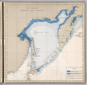 Ice Chart, Okhotsk Sea Region, April