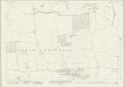 Oxfordshire V.11 (includes: Broughton; Drayton; North Newington; Wroxton) - 25 Inch Map