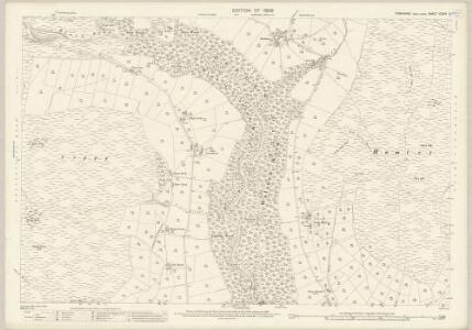 Yorkshire CCXIV.12 (includes: Heptonstall; Wadsworth) - 25 Inch Map