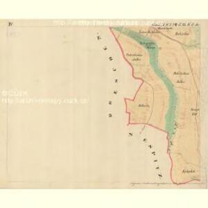 Dantschowitz - m0415-1-004 - Kaiserpflichtexemplar der Landkarten des stabilen Katasters