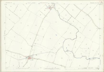Huntingdonshire XIII.14 (includes: Alconbury Weston; Buckworth; Hamerton; Upton and Coppingford) - 25 Inch Map
