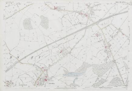 Somerset XXX.12 (includes: Beckington; Berkley; Chapmanslade; Dilton Marsh) - 25 Inch Map