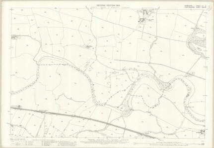 Derbyshire LII.8 (includes: Doveridge; Marchington; Sudbury) - 25 Inch Map