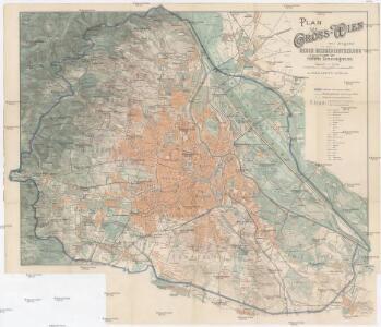 Plan von Gross-Wien