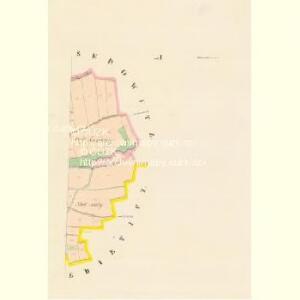 Smiratitz - c7078-1-002 - Kaiserpflichtexemplar der Landkarten des stabilen Katasters