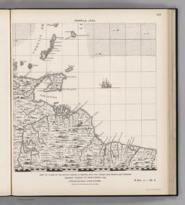Facsimile:  Part of British Empire in South America.