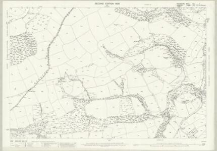 Devon XXIII.4 (includes: Brushford; Dulverton; East Anstey) - 25 Inch Map