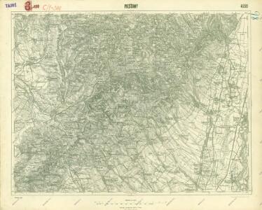 III. vojenské mapování 4559