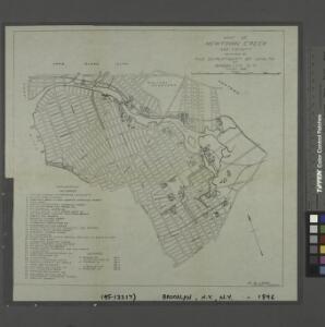 Map of Newtown Creek and vicinity / prepared by the Department of Health of Brooklyn, N.Y., January 1896 ; W.W. Locke, sanitary engineer.