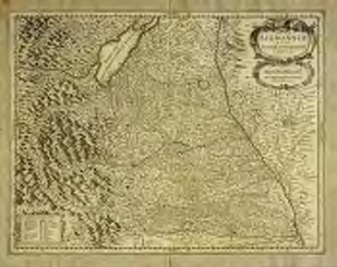 Nova Alemanniæ sive Sveviæ svperioris tabvla