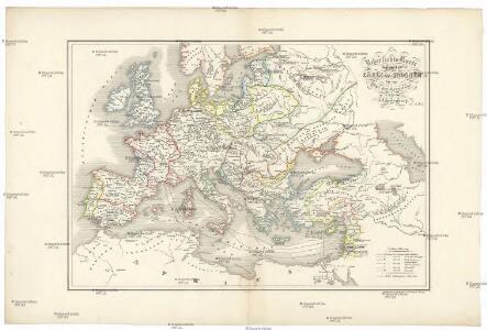 Uebersichts-Karte für der Carls des Grossen bis zum Ende der Kreuzzüge
