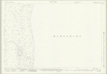 Dorset XXXV.8 (includes: Hurn; St Leonards and St Ives; West Parley) - 25 Inch Map